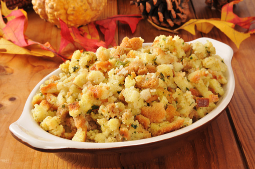 Bread Dressing Recipe. The most traditional stuffing for Thanksgiving turkey.